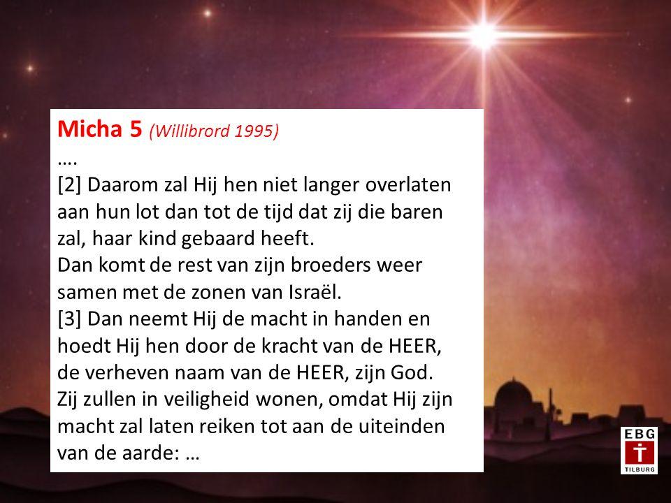 HOOP VOOR ISRAËL EN HOOP VOOR DE WERELD: DE MESSIAS Zacharia 8 (Willibrordvertaling) [6] Zo spreekt de HEER van de machten: Het zal wonderlijk lijken in die dagen, in de ogen van de rest van dit volk, maar moet het daarom ook in mijn ogen wonderlijk zijn.