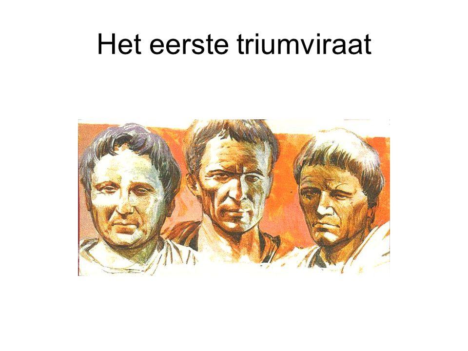 Het eerste triumviraat
