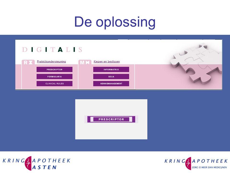 Wat is een EVS Electronische voorschrijfsysteem is de software waarmee een formularium benaderd kan worden –Tom-Tom apparaat met software Een formularium bevat de gemaakte afspraken waarmee gewerkt wordt –Routekaarten (europa, nederland etc.)