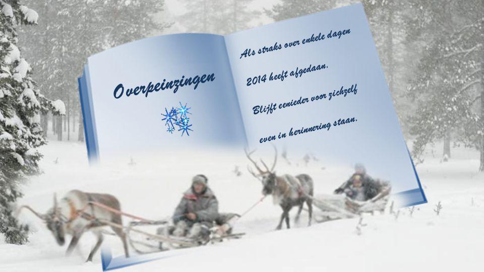 Overpeinzingen van Tonny Hofmans. Muziek : Leise rieselt der schnee.