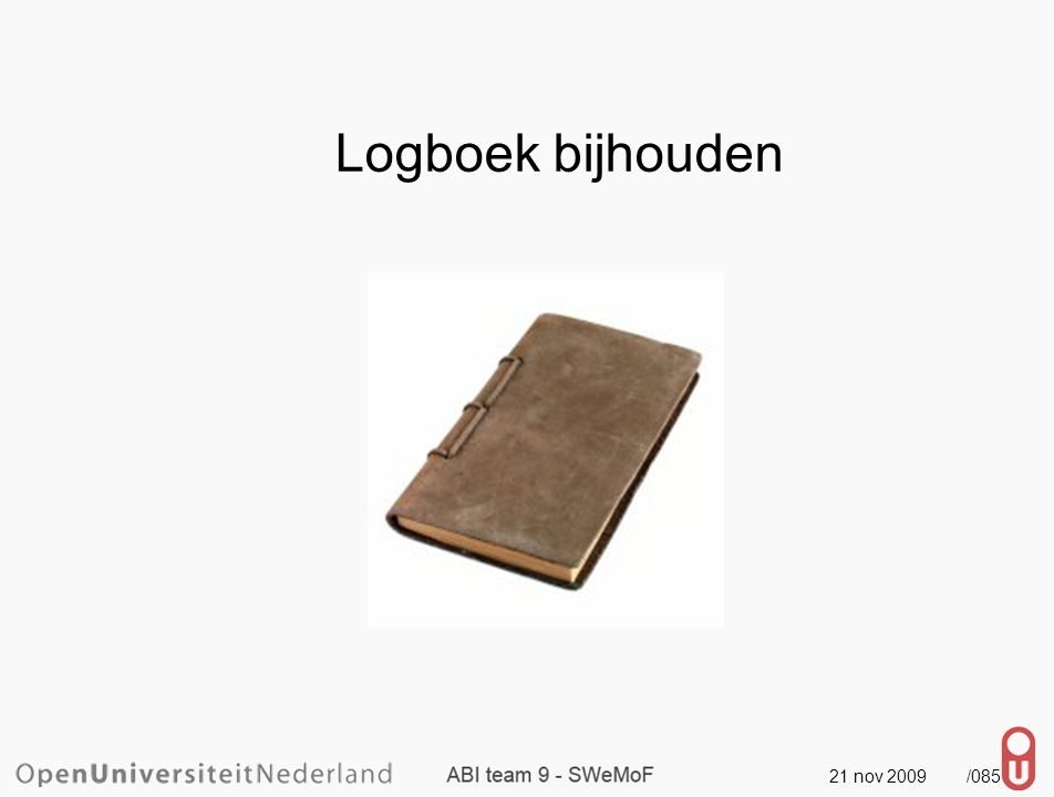 21 nov 2009 /086 Gebruik SVN ook voor documenten