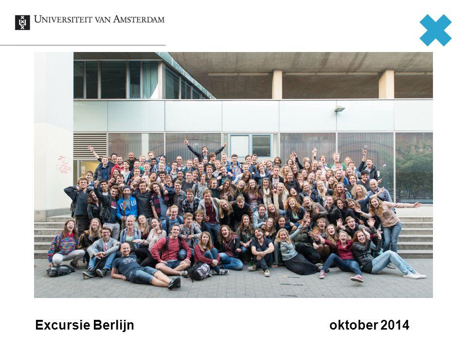 Excursie Berlijn oktober 2014