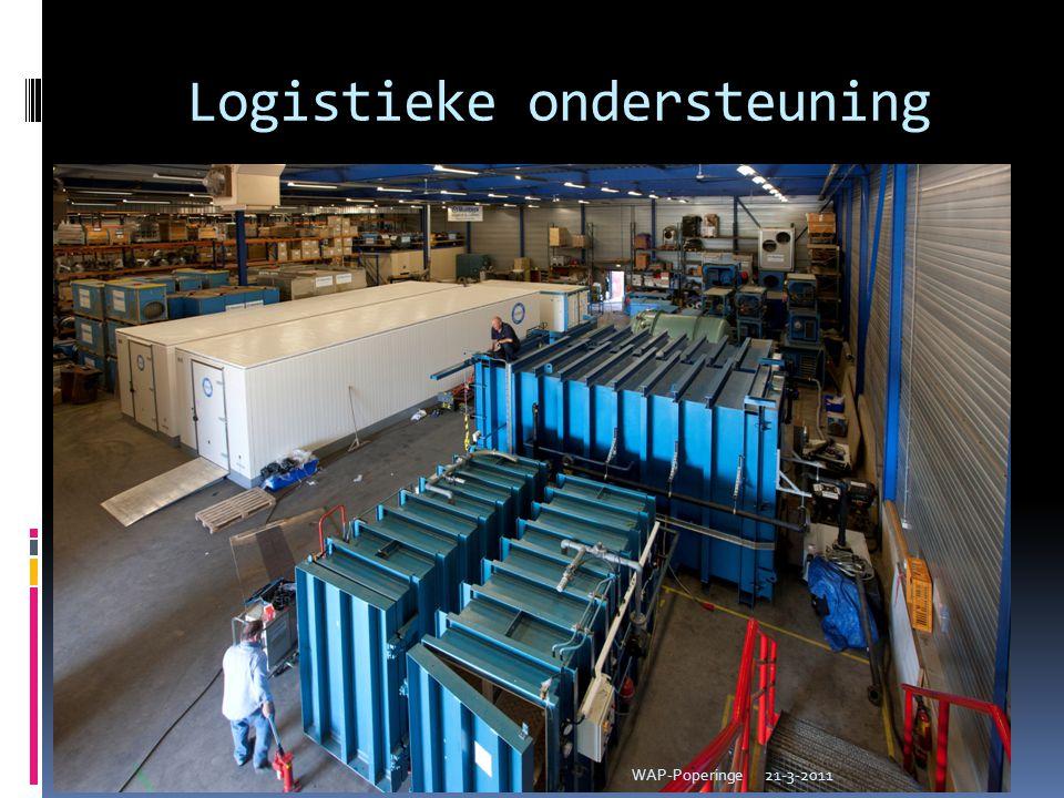 Logistieke ondersteuning 21-3-2011WAP-Poperinge