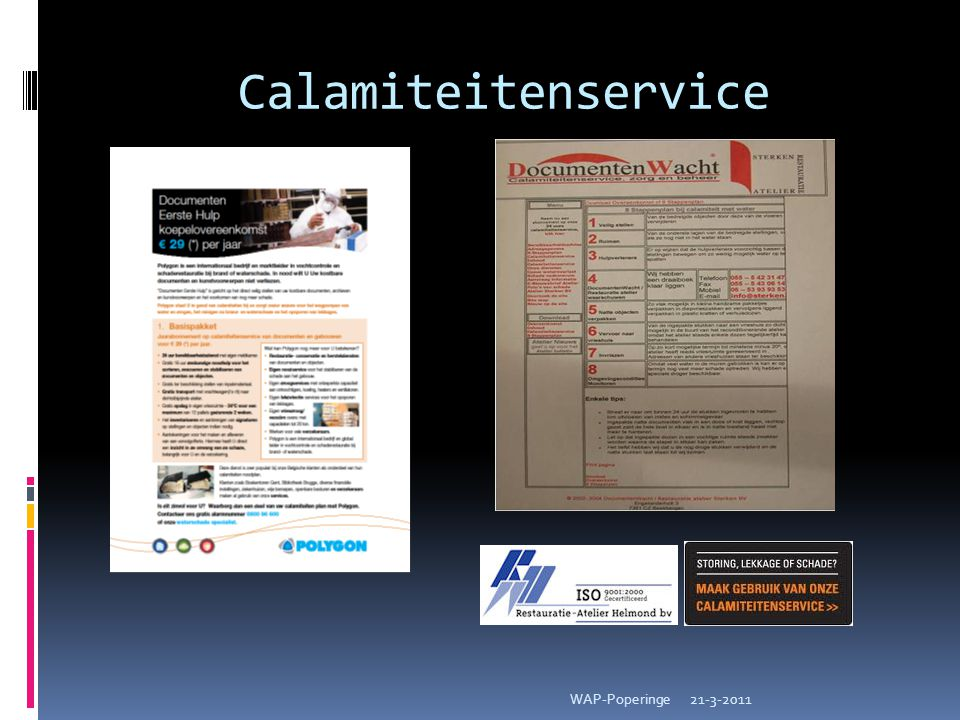 Calamiteitenservice 21-3-2011WAP-Poperinge