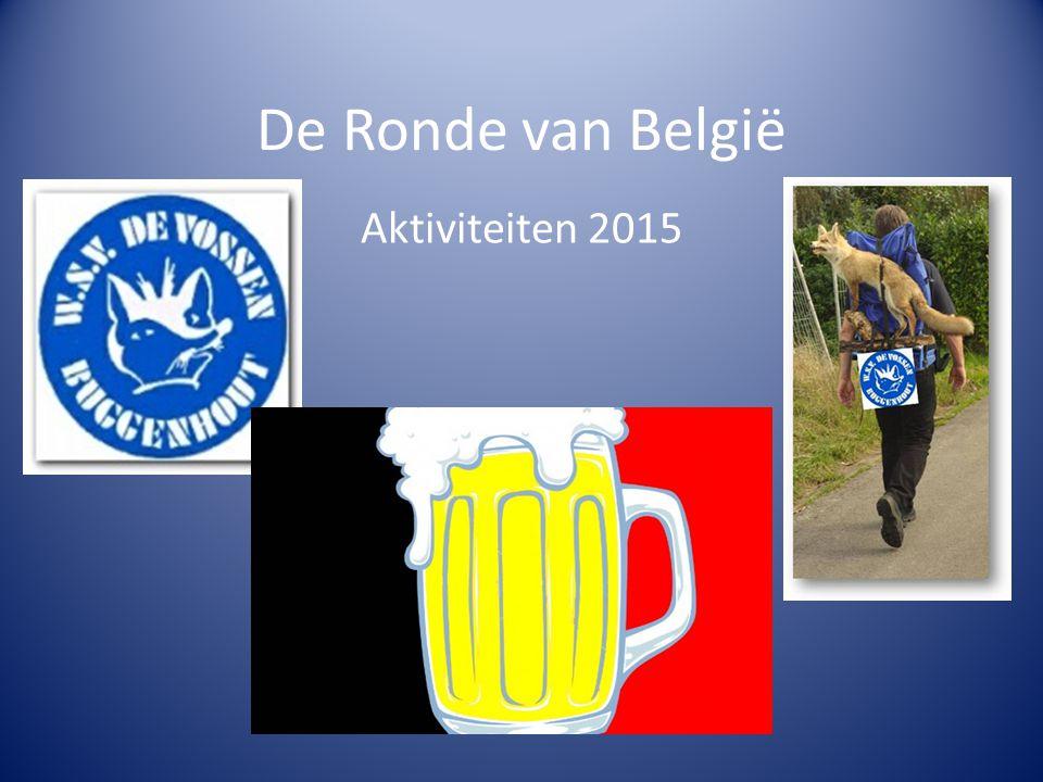 De Ronde van België Aktiviteiten 2015