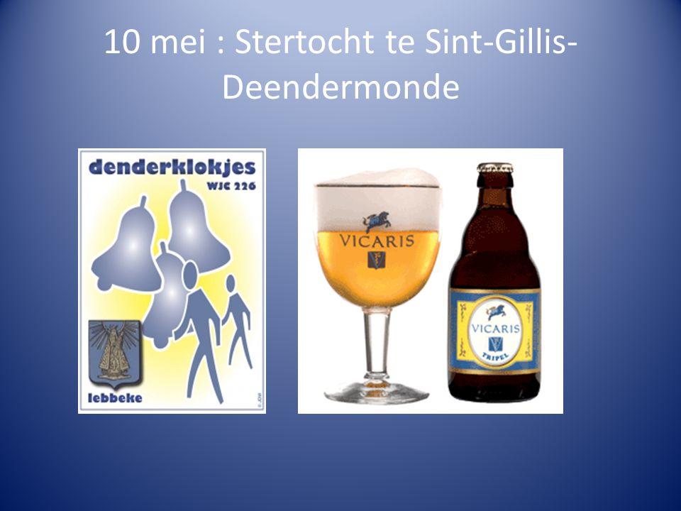 10 mei : Stertocht te Sint-Gillis- Deendermonde