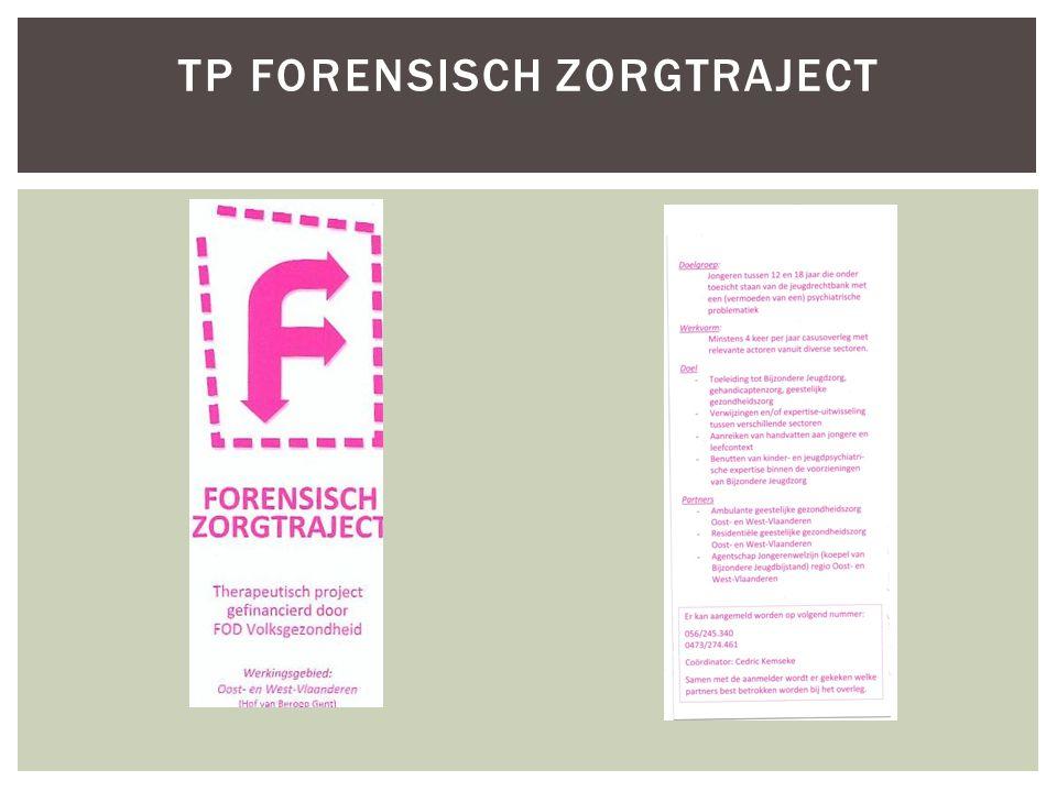  2007: opstart Therapeutische Projecten (84)  Organisatie GGZ in zorgcircuits en zorgnetwerken  Voorbereiding hervorming Art.