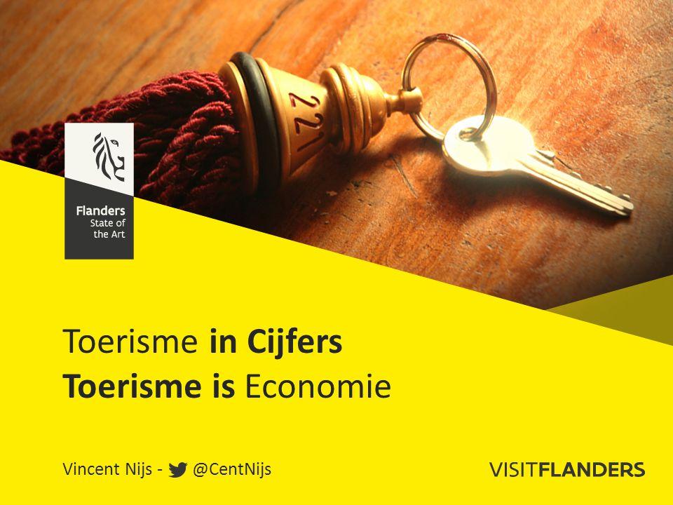 Toerisme in Cijfers Toerisme is Economie Vincent Nijs - @CentNijs