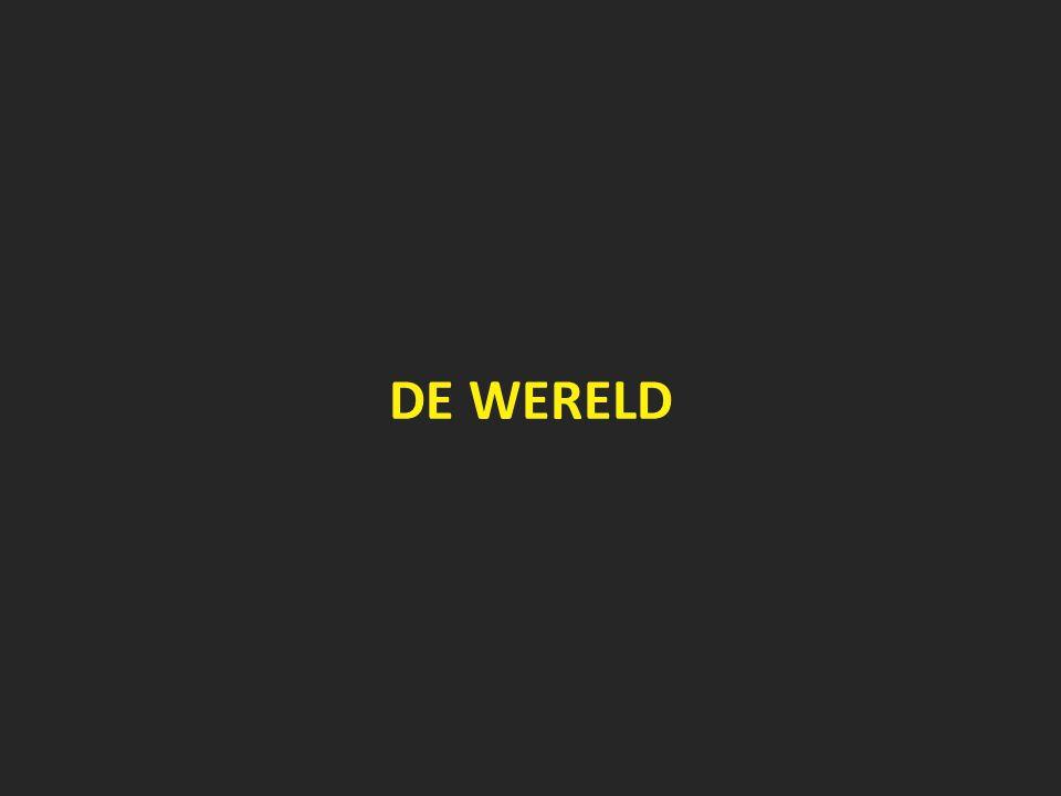 2013 - Overnachtingen in Vlaanderen naar herkomstland: binnenland-buitenland 50/50% Bron: Algemene Directie Statistiek