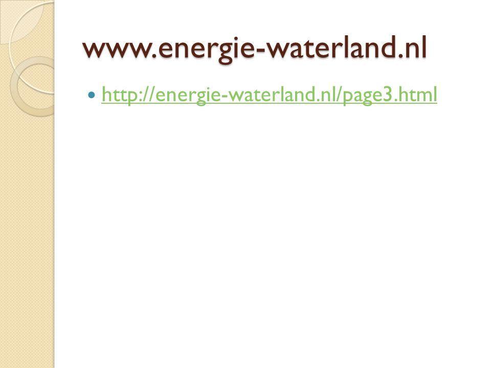 www.energie-waterland.nl http://energie-waterland.nl/page3.html