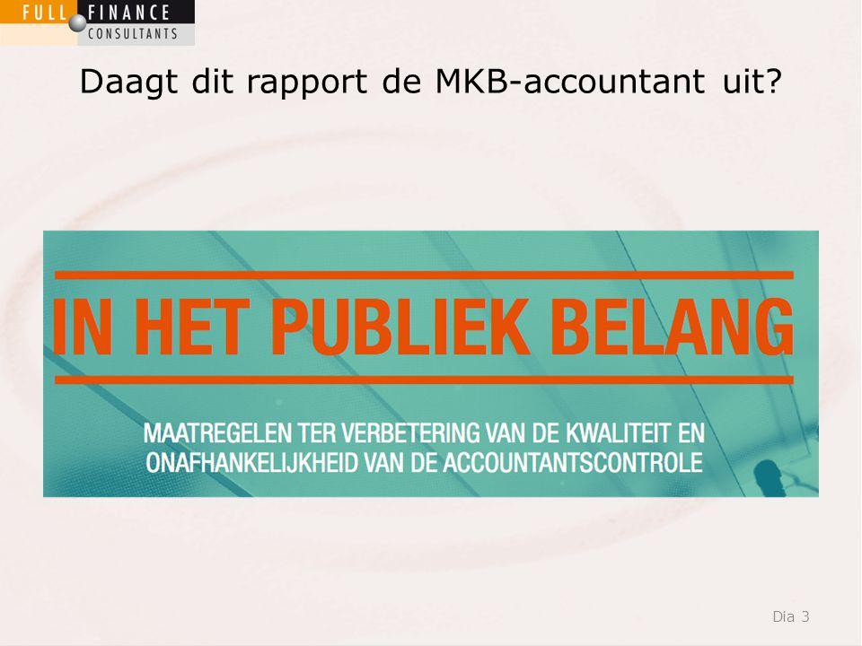 Daagt dit rapport de MKB-accountant uit Dia 3