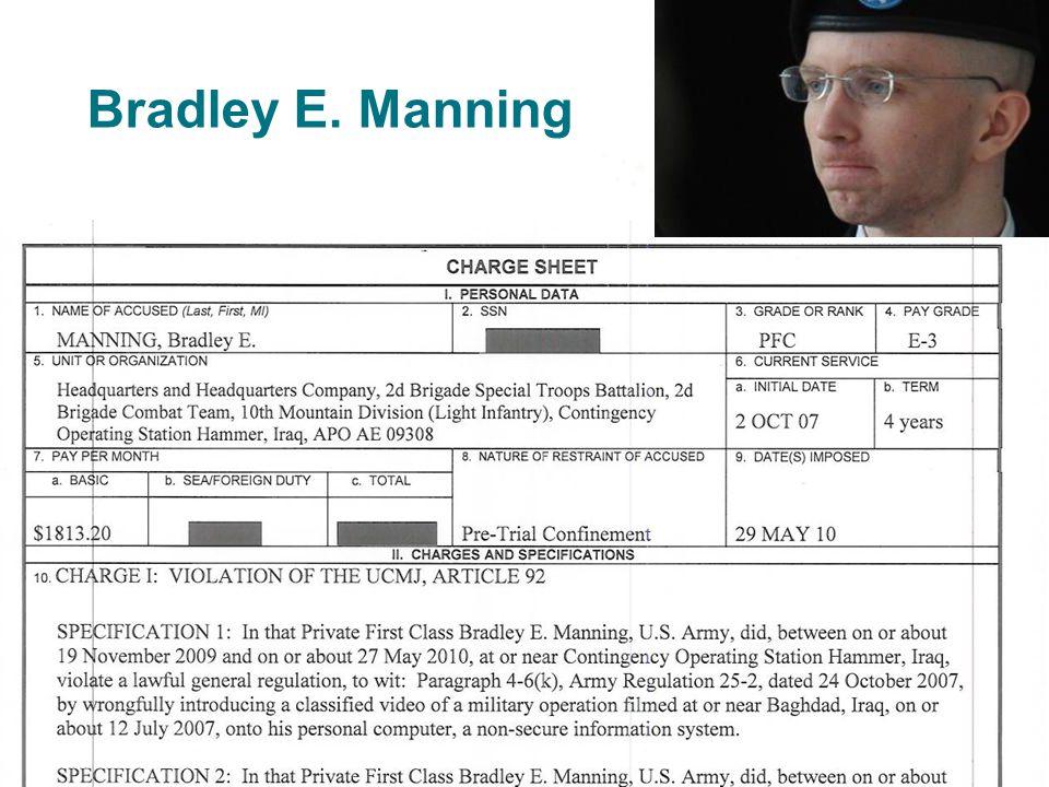 Bradley E. Manning 7