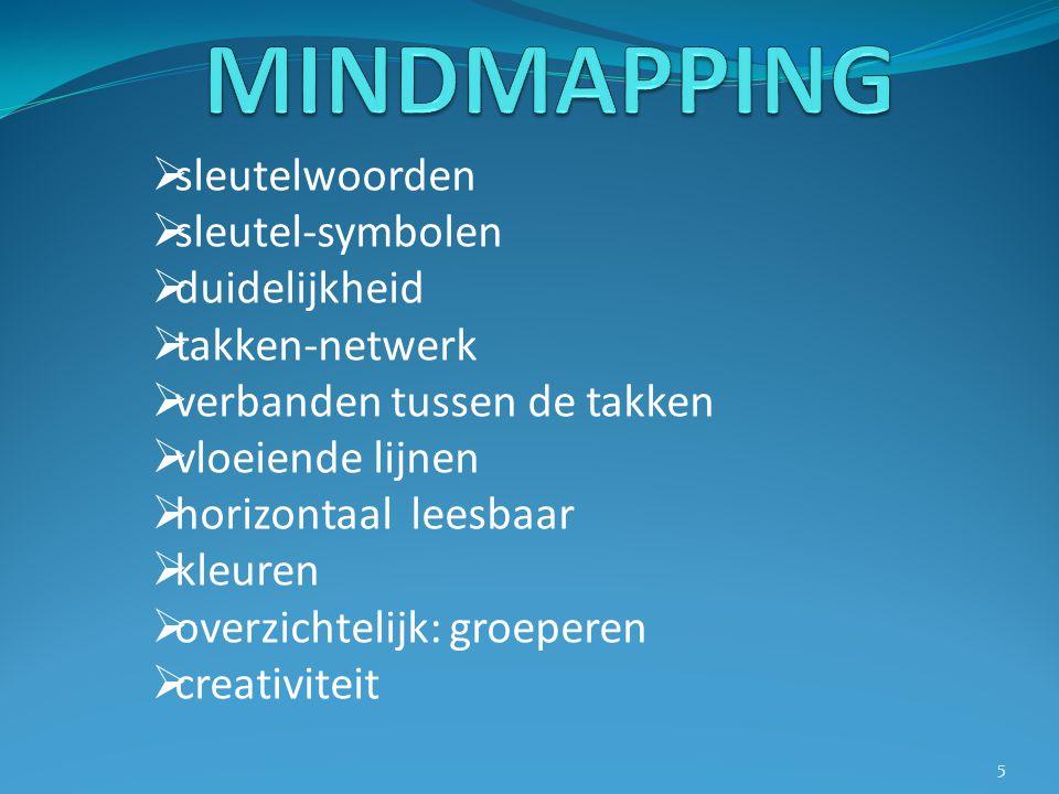 voorbeeld van een mindmap 6