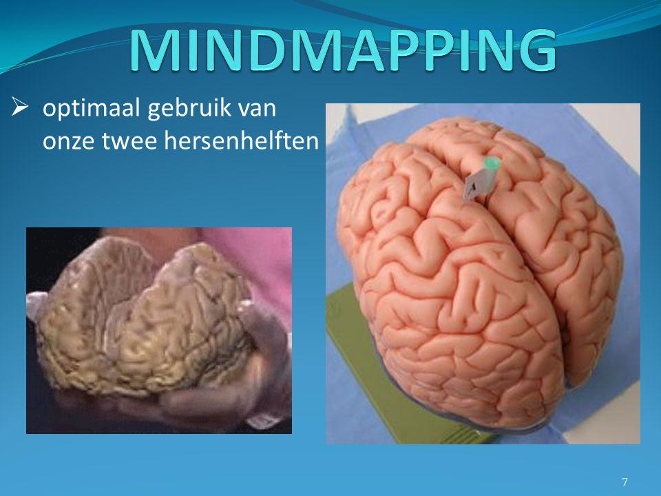  optimaal gebruik van onze twee hersenhelften 7
