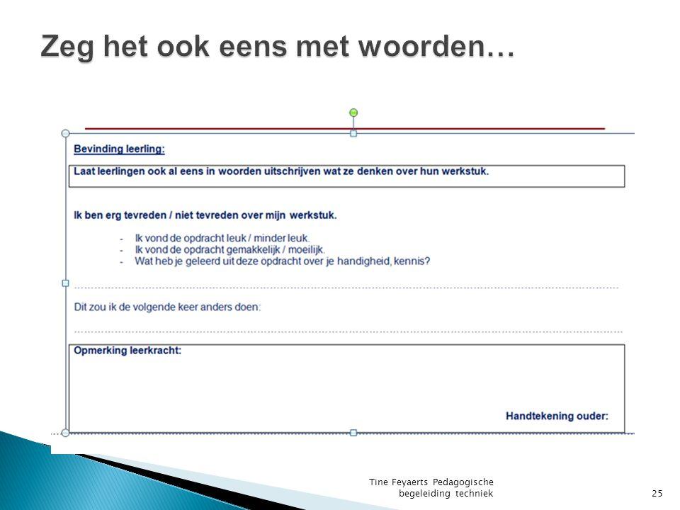 Tine Feyaerts Pedagogische begeleiding techniek25