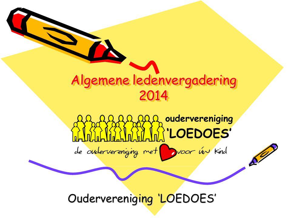 Algemene ledenvergadering 2014 Oudervereniging 'LOEDOES'