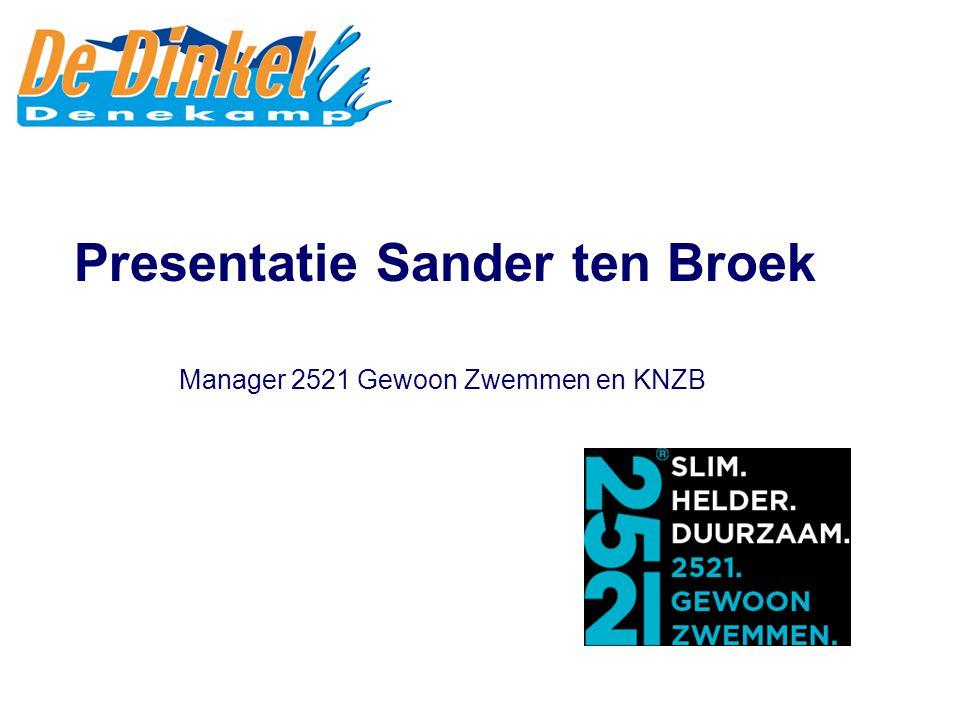 Lid initiatiefgroep Sportcentrum De Dinkel Twente Presentatie Cel Severijn
