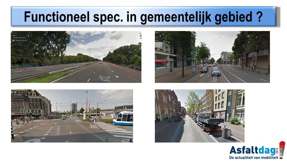 Functioneel spec. in gemeentelijk gebied ?