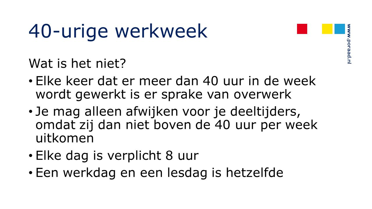 www.poraad.nl Professionalisering directielid Artikel 9.11 (i.p.v.