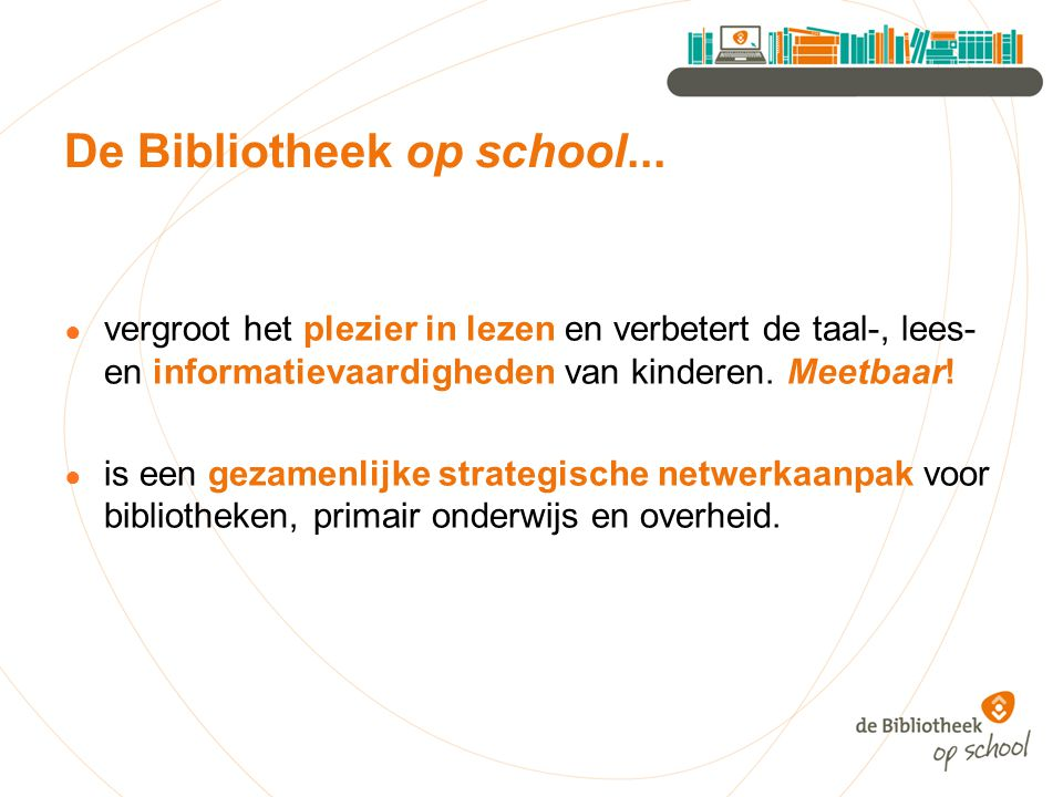De Bibliotheek op school...