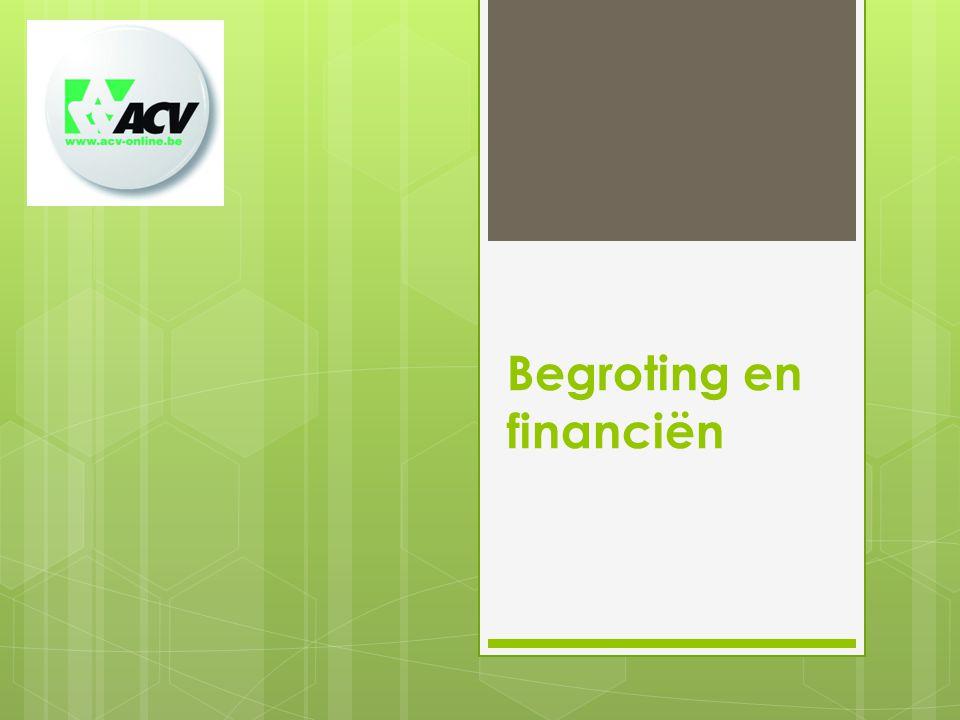 Begroting en financiën
