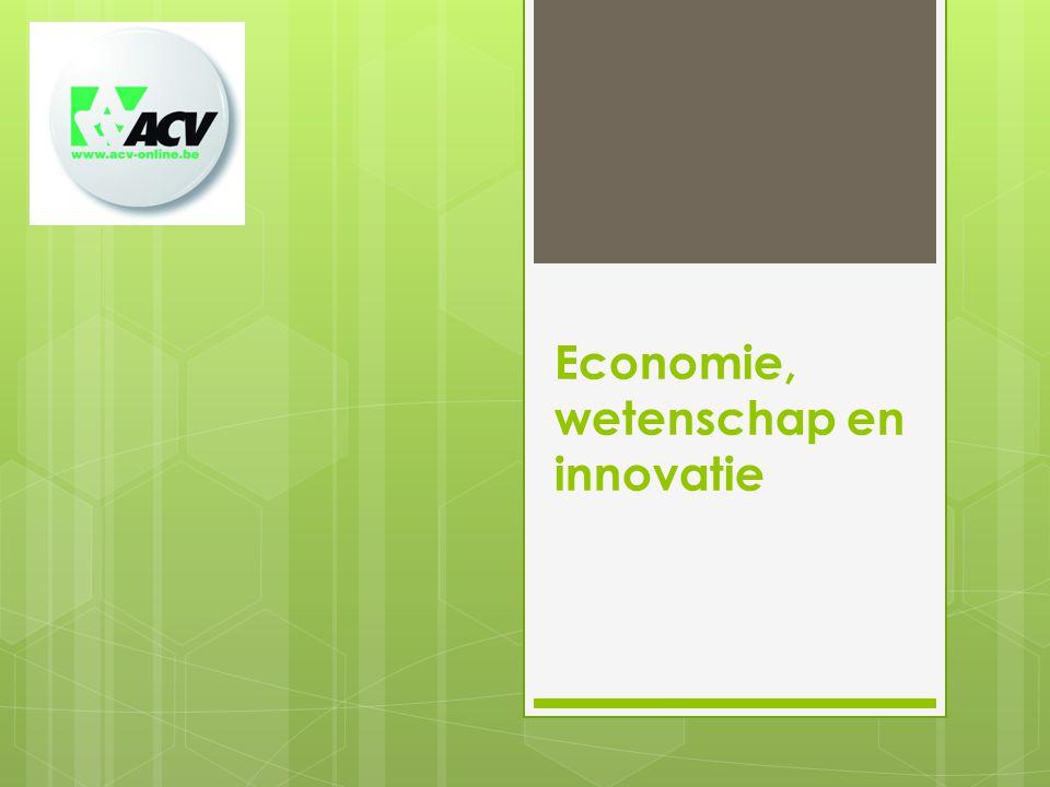 Economie, wetenschap en innovatie