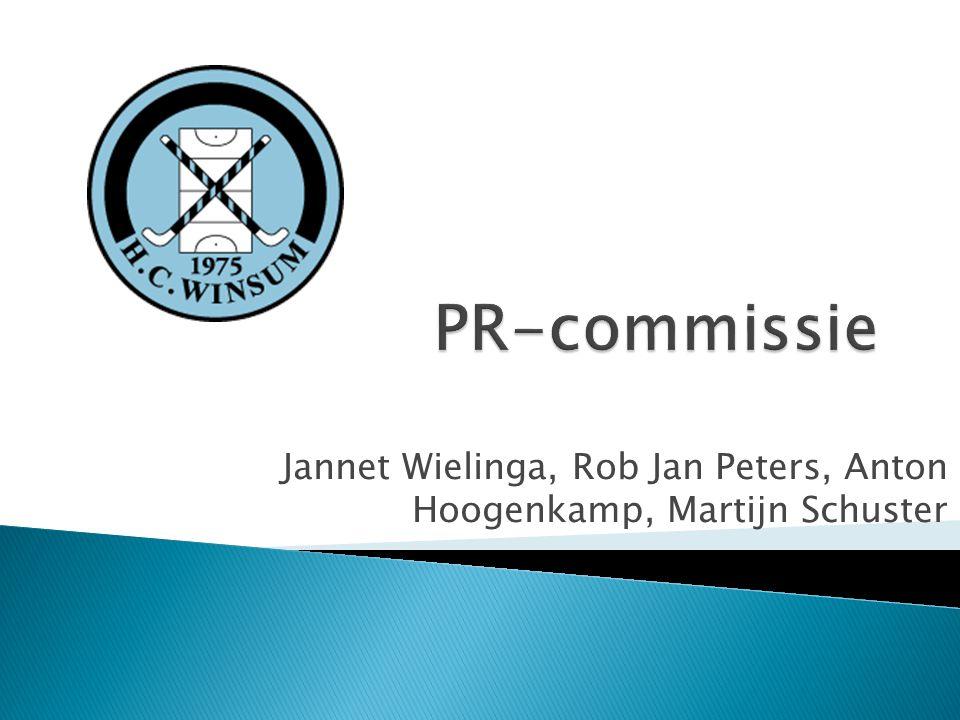  rapport Imago- en identiteitsonderzoek HC Winsum  Hoofdvraag: Hoe vergroten we het aantal mannelijke jeugdleden (6-12 jaar)