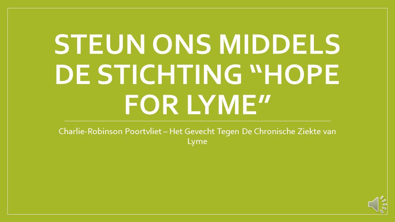 """Stijgend aantal zelfdodingen door Lyme """"Zeker vijf mensen die de ziekte van Lyme hadden, hebben het afgelopen half jaar zelfmoord gepleegd vanwege de"""