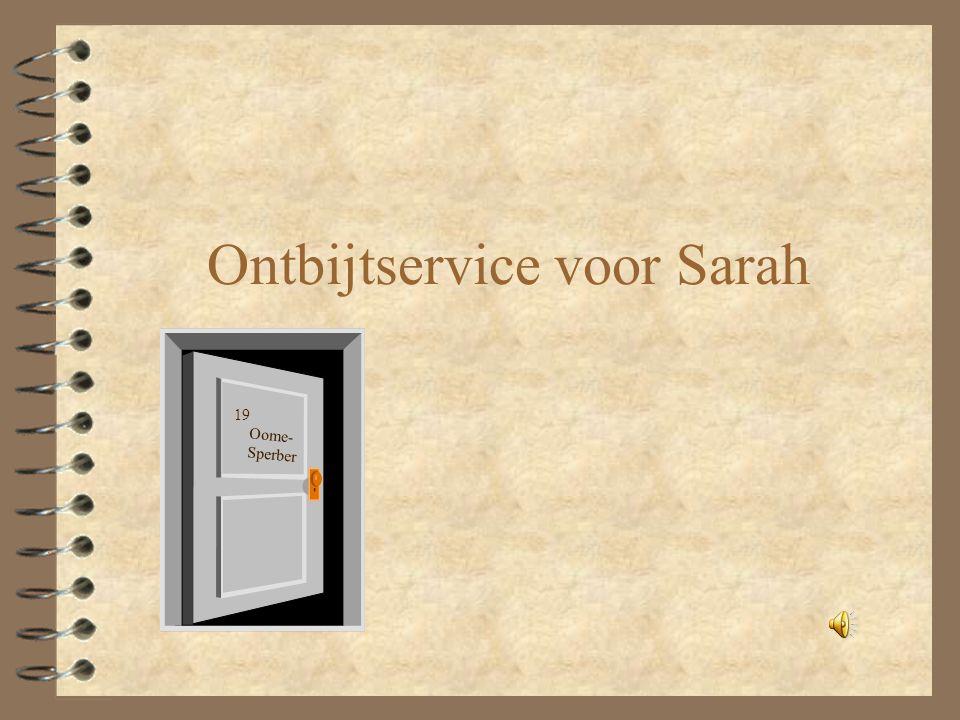 Ontbijtservice voor Sarah Oome- Sperber 19
