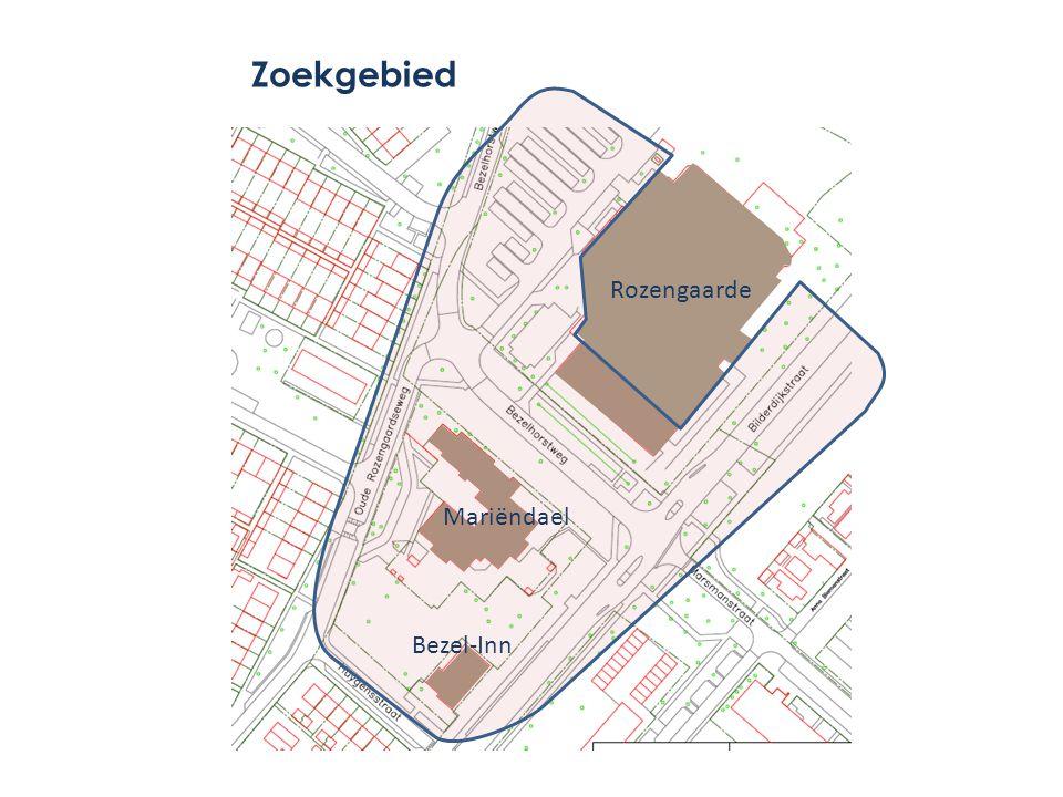 Mariëndael Rozengaarde Bezel-Inn Zoekgebied