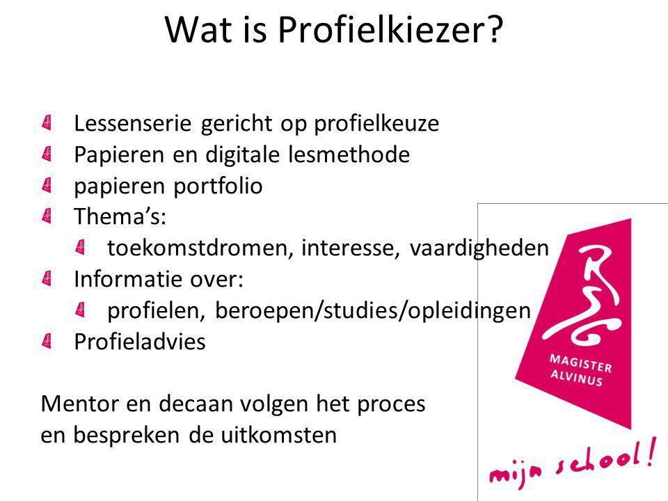 Profielkeuze Atheneum/Gymnasium Vakkenpakket bestaat uit: Gemeenschappelijk deel met verplichte vakken.