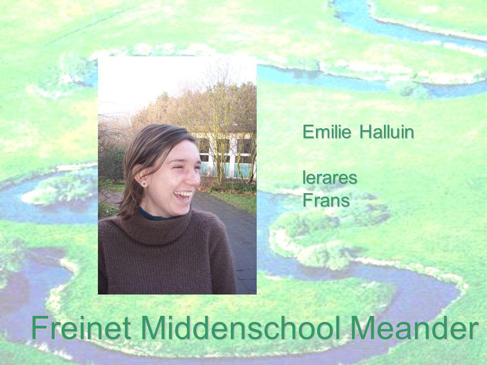 Freinet Middenschool Meander Katja Braet lerareswiskunde,biologie en aardrijkskunde