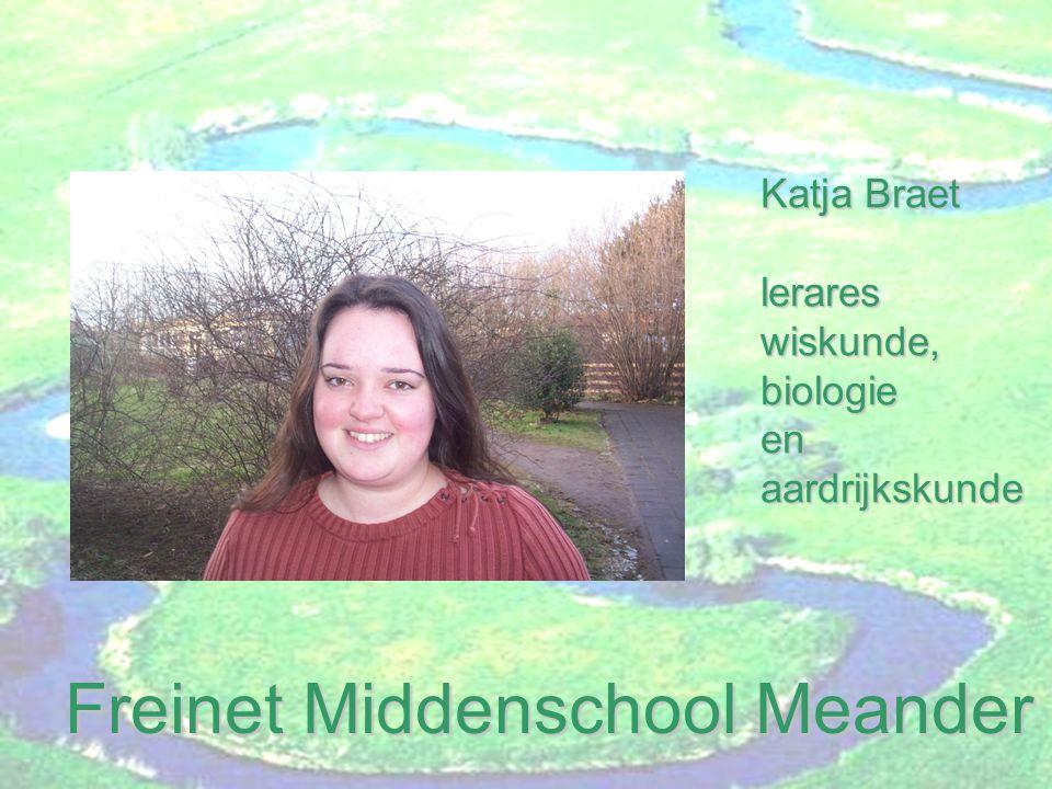 Freinet Middenschool Meander Evelyne Demey leraresPO,MO en TO