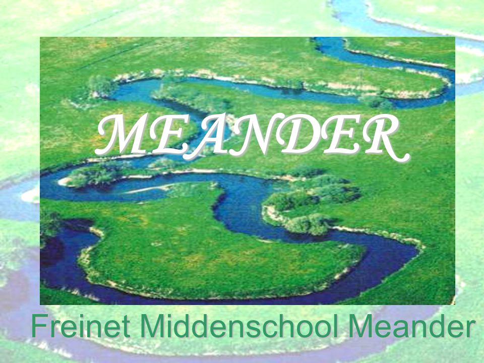 Freinet Middenschool Meander MEANDER