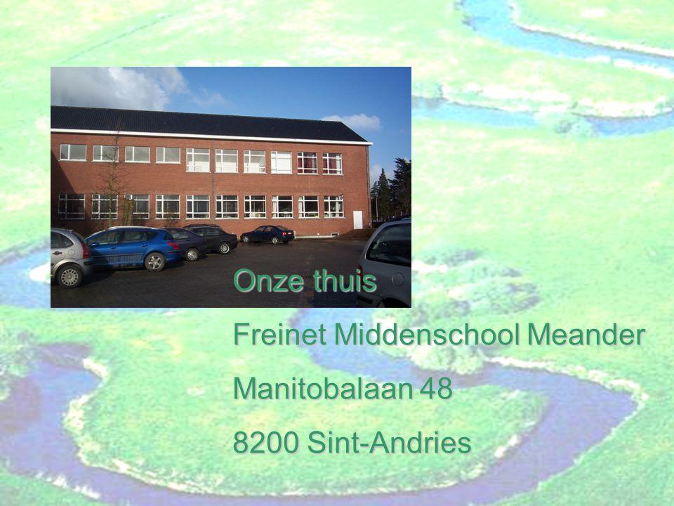 Een kijkje in de klassen Freinet Middenschool Meander