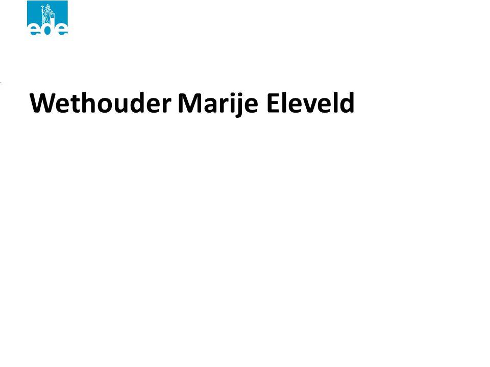 Wethouder Marije Eleveld