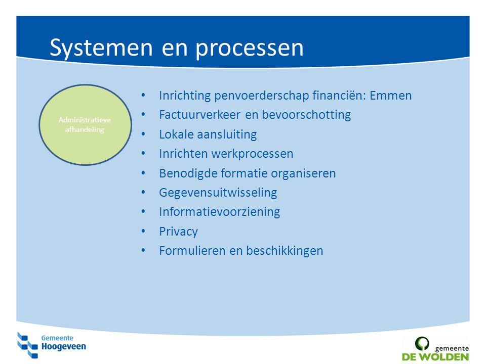 Monitoring en verantwoording Afspraken bedrijfsbureau financiën Drentse monitor transformatie Via CBS, afspraken opnemen in contracten Monitoring en verantwoording