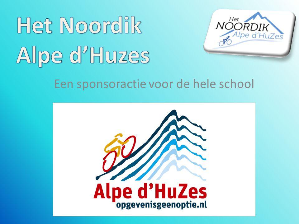 Een sponsoractie voor de hele school