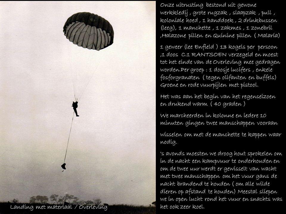 Uit Herinneringen aan mijn verblijf in Belgisch Congo als Para-Commando