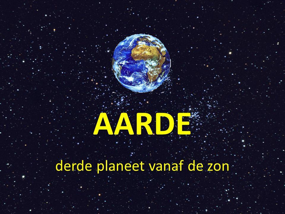AARDE derde planeet vanaf de zon
