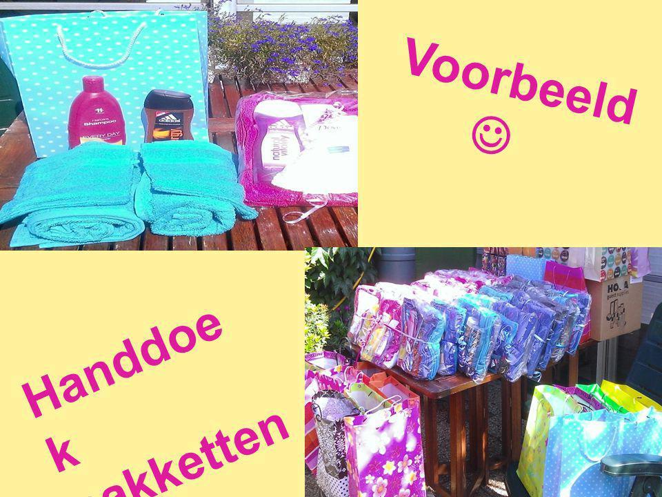 Voorbeeld Handdoe k pakketten