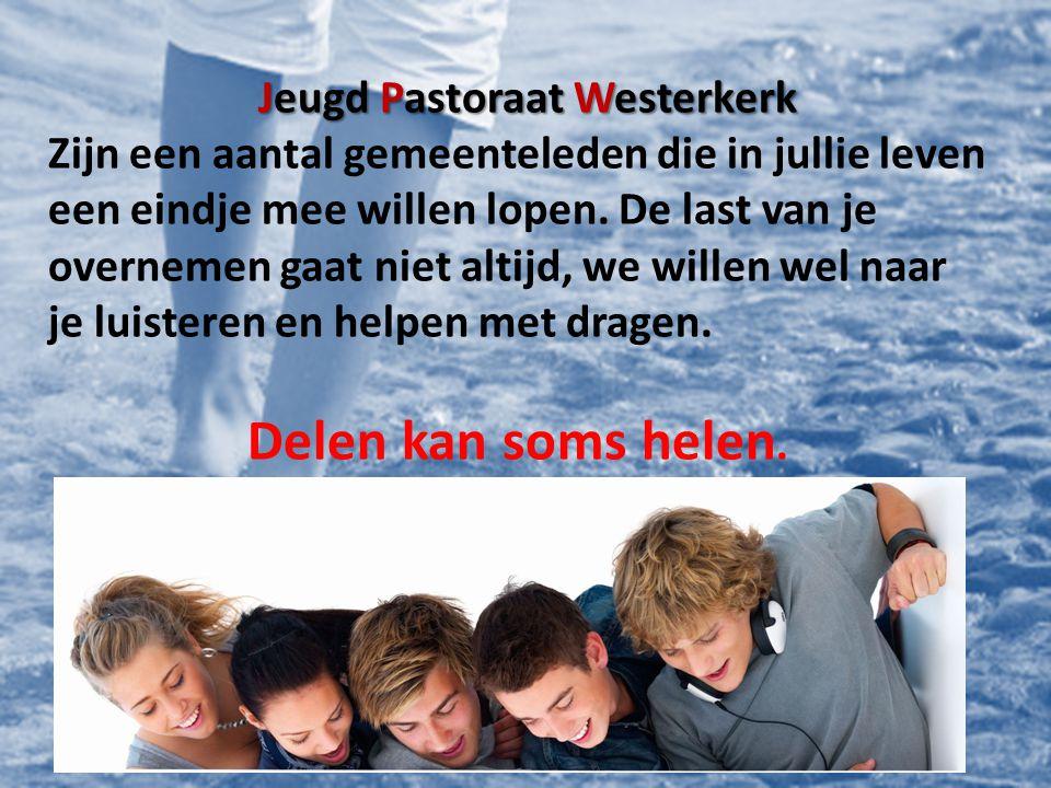 Jeugd Pastoraat Westerkerk.