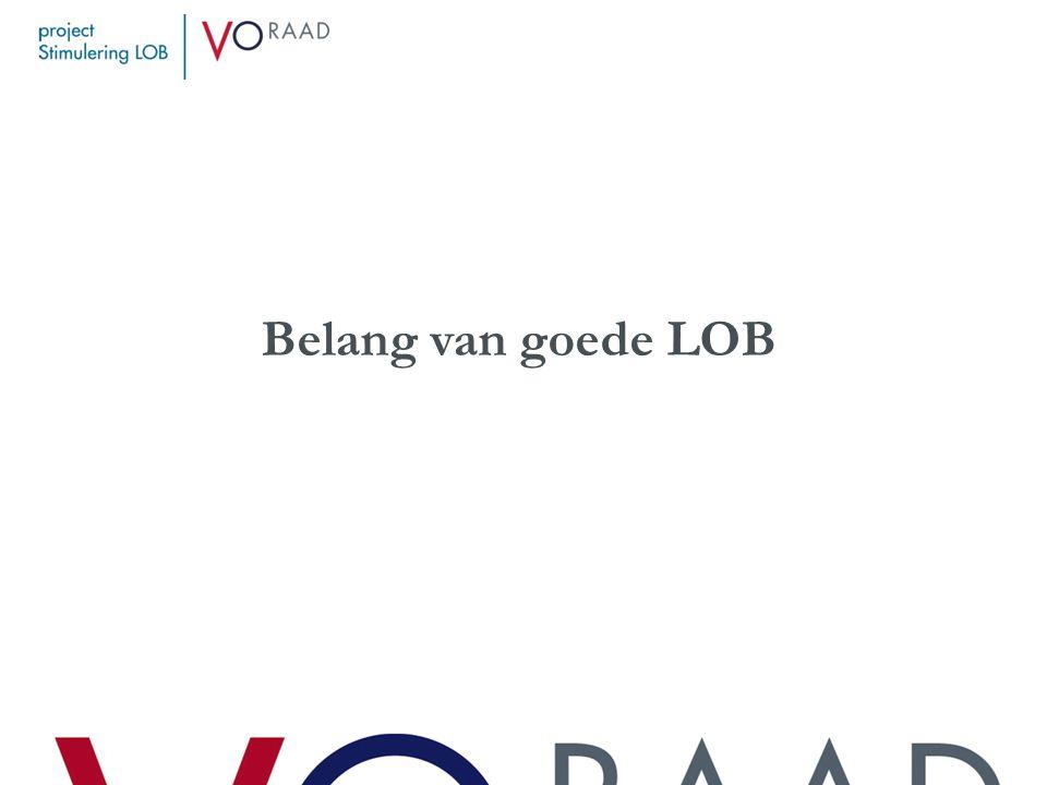 LOB: het effect op studiesucces Combinatie van LOB-activiteiten.
