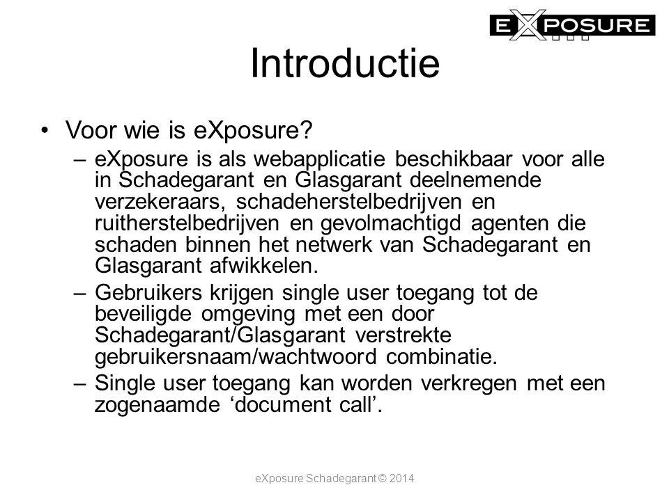 Introductie Wat kost eXposure.