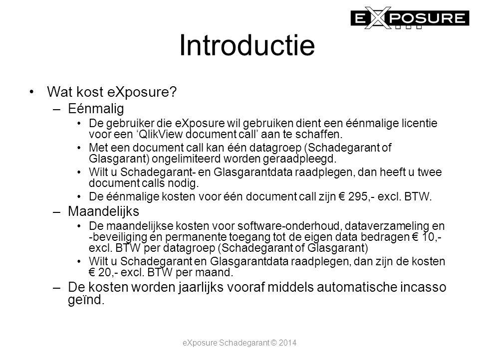 Introductie Hoe raadpleeg ik eXposure.