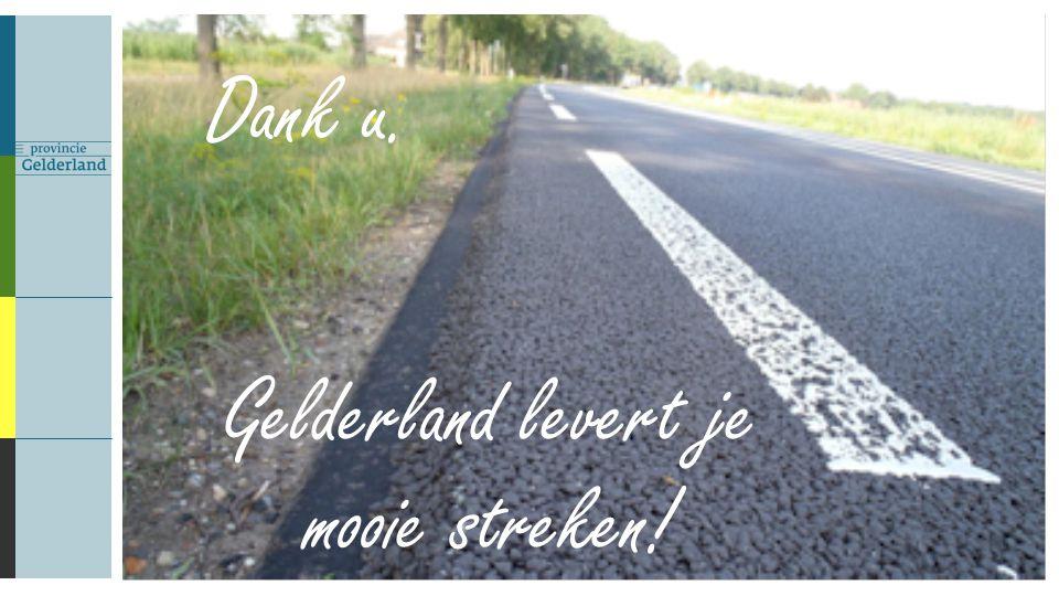 Gelderland levert je mooie streken! Dank u.