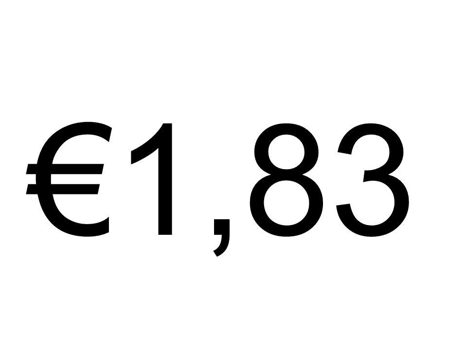 €1,83