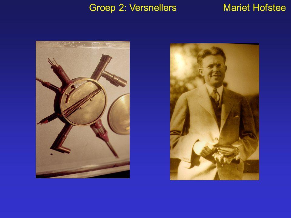 Groep 2: Versnellers Mariet Hofstee