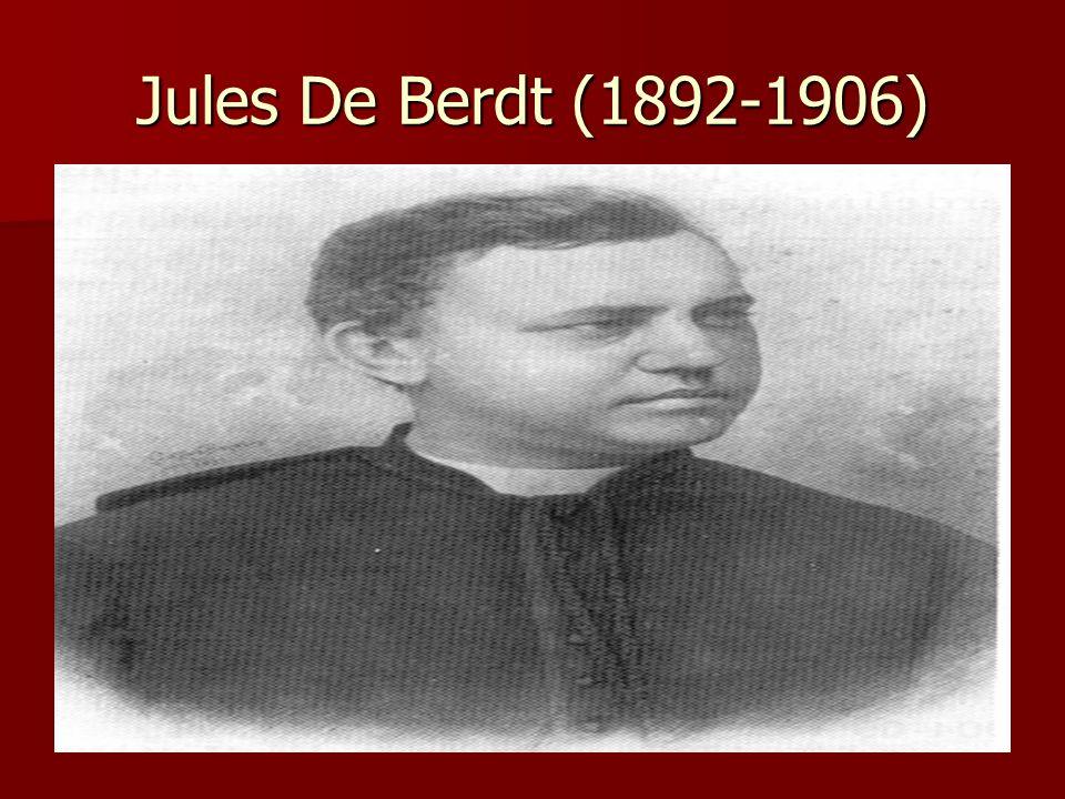 Jules De Berdt (1892-1906)