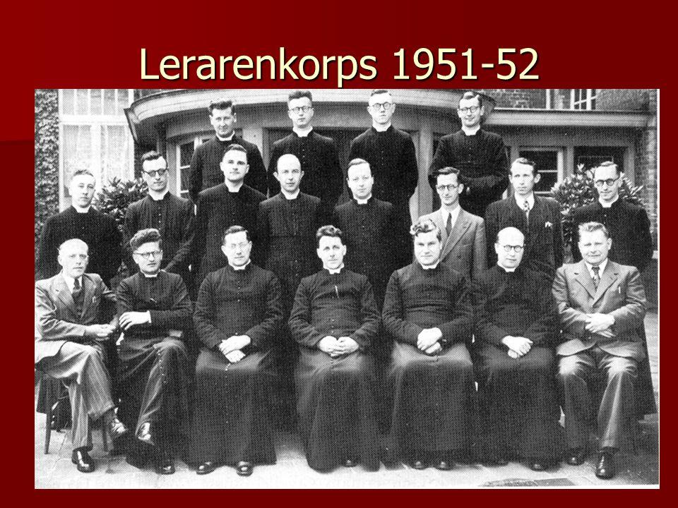 Lerarenkorps 1951-52
